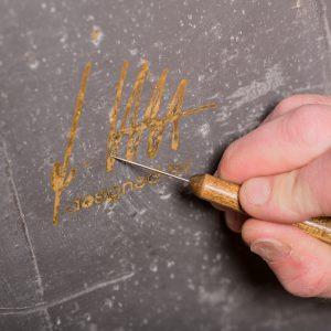 Signatur Kunstwandwerke - finale Arbeiten