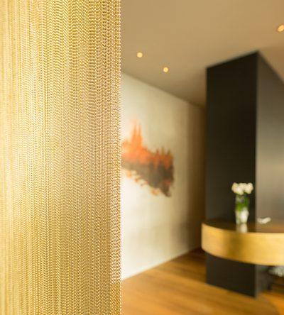 Wandgestaltung im Restaurant Maximilian Lorenz