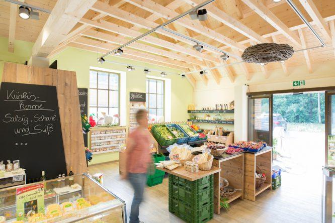 Gemüsehof Wilms - Interior Hofladen