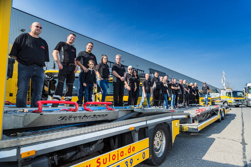 Suloja Autotransporte - Team-Mitglieder