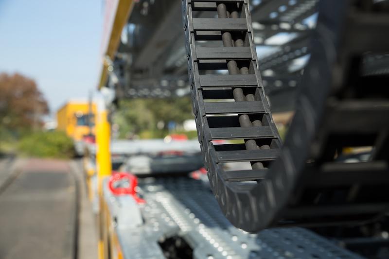 Suloja Autotransporte - Detailaufnahme Transporter