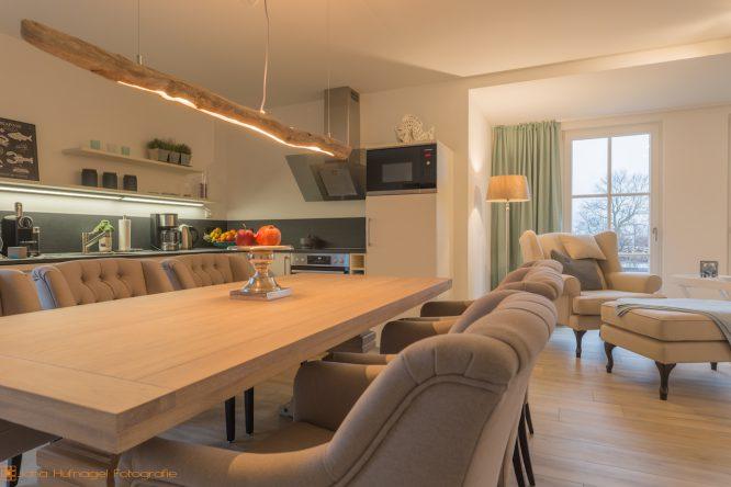 Ferienhaus Nautilus am Rügenblick21 - vollständig eingerichtete Küche