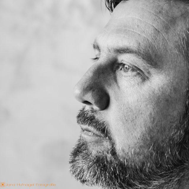 Portrait Heinrich Walther - Profilaufnahme