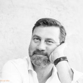 Portrait Heinrich Walther - sw