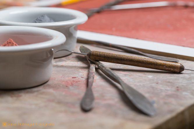 Werkstatt - Werkzeug Nahaufnahme