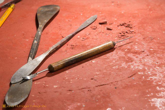 Werkstatt - verschiedene Werkzeuge