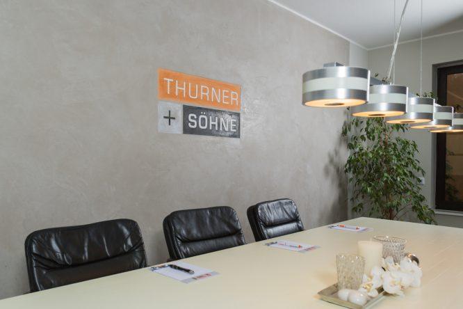 Heinrich Walther - Logo-Gestaltung Thurner + Söhne